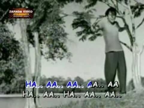 """SIMPULAN KASIH (KARAOKE) P.Ramlee & Normadiah filem """"Panggilan Pulau"""" (1953)"""