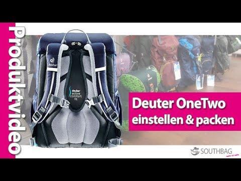 feinste Auswahl attraktive Farbe tolle Passform Deuter OneTwo Schulranzen - richtig einstellen und bepacken