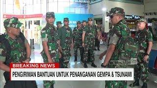 TNI Kirimkan Bantuan Alat Medis & Obat-obatan ke Korban Gempa & Tsunami Sulteng