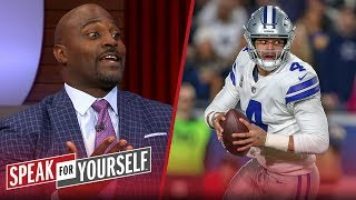 Cowboys should prioritize Dak's contract over Zeke's - Marcellus Wiley   NFL   SPEAK FOR YOURSELF