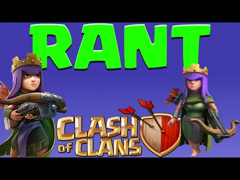 Clash of Clans ARCHER QUEEN RANT! ARCHER QUEEN AI SUCKS!