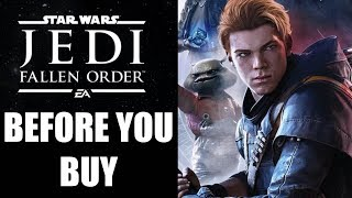 Star Wars Jedi: Fallen Order - 15 Things You Need To Know Before You Buy