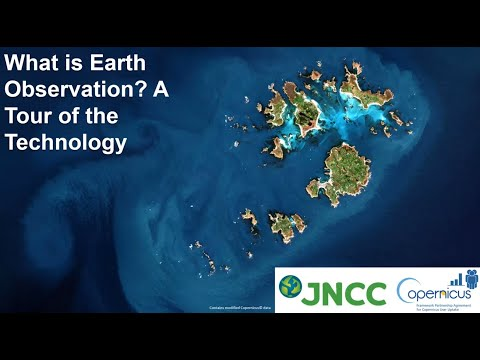 An Introduction to Earth Observation - Session 1 - A tour of the technology