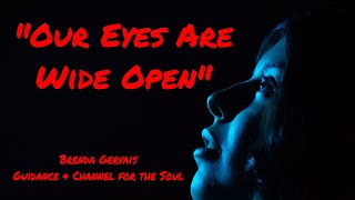 """Our Eyes Are Wide Open"" Brenda Gervais"