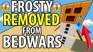 THEY REMOVED THE SNOW GOLEMS in BEDWARS?!!