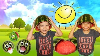 Watermelon Kids Summertime With Party Tricks