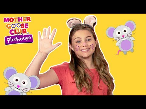 Mother Goose Club Playhouse | Five Little Mice | Nursery Rhymes Collection | Rhyme With Us!