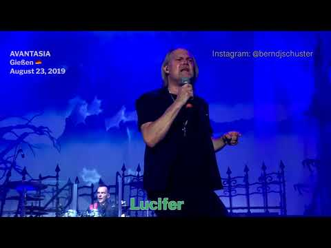 AVANTASIA - Lucifer @Giessen, Germany - August 23, 2019 - 4K LIVE