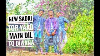 Gambar cover Tor Yaad Main Dil To Diwana Ho Gaya New Sadri Hit Full Hd Video Songs 2019.