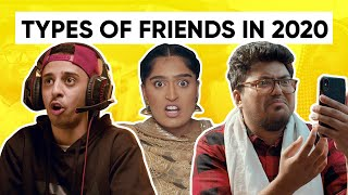 Types Of Friends In 2020 | Life During Lockdown | Jordindian