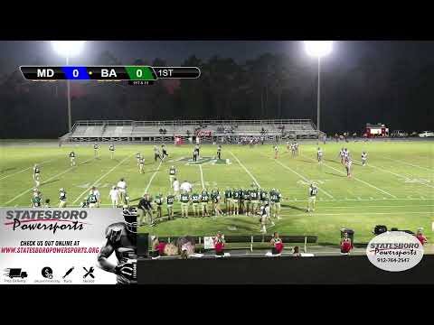 Bulloch Academy vs Memorial Day School