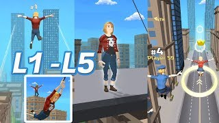 Swing Rider Level 1-5 Walkthrough