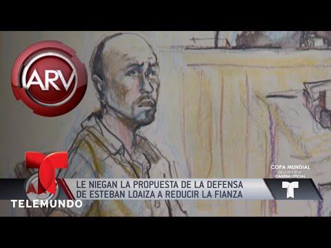 Las malas noticias para Esteban Loaiza no paran | Al Rojo Vivo | Telemundo