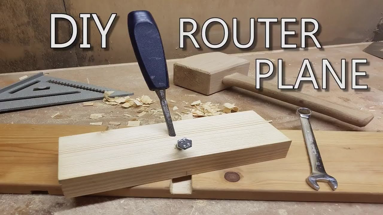 Diy How To Make A Router Plane Bcdesign01