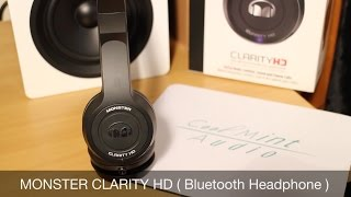 monster Clarity HD Wireless Headphones  ( Insta-Look )