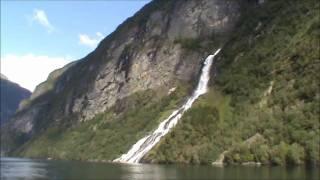 Норвежская сказка (водопад 7 сестер)