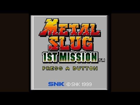 Metal Slug 1st Mission Playthrough (Neo Geo Pocket Color)