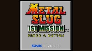 Metal Slug 1st Mission Playthrough (Neo Geo Pocket Color)