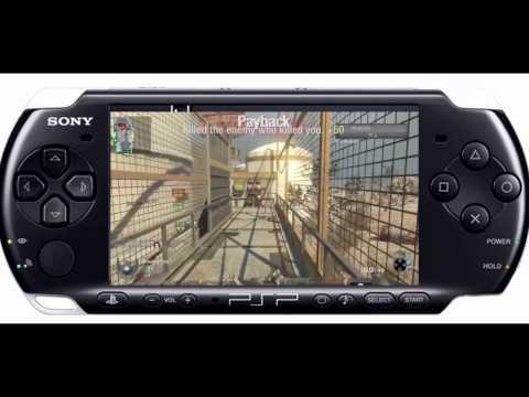 BLACK OPS PSP GAMEPLAY! (HD)
