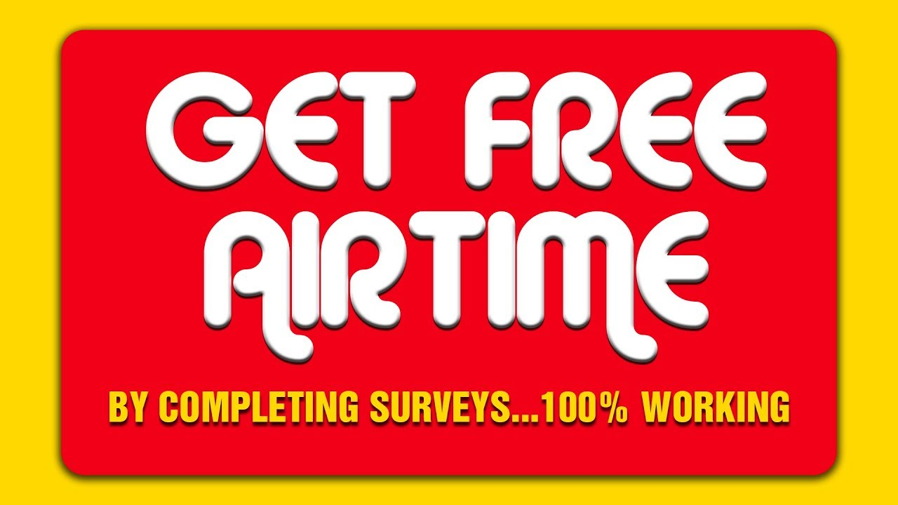 How To Get Free Airtime by Completing Geopoll Surveys | 100% Working #Ghana