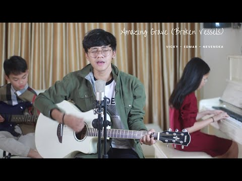 broken-vessels-(amazing-grace)-[official-lyric-video]---hillsong-worship-(cover-by-vicky-himpong)