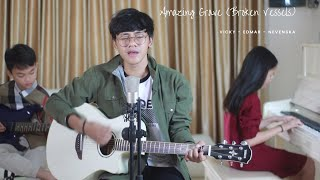 Download Broken Vessels (Amazing Grace) [Official Lyric Video] - hillsong worship (Cover By Vicky Himpong)