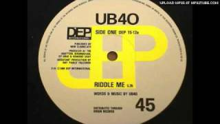 UB40 - Riddle Me (Dance Mix)