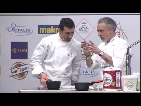 Bacalao de Islandia at Madrid Fusion 2016