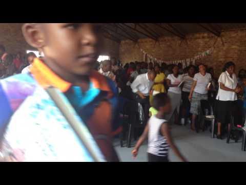 gezamenlijke kerkdienst FRC SOSHANGUVE