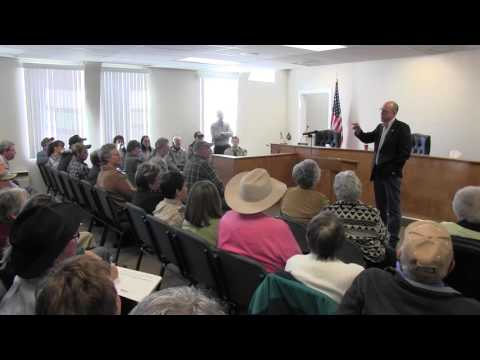 Greg Walden Lakeview town hall meeting 4-02-2016