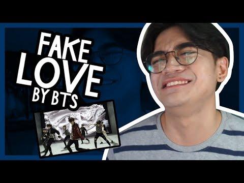 FAKE LOVE BY BTS REACTION // Luigi Pacheco