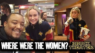 Why didn't women go see CAPTAIN MARVEL?