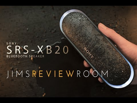 SONY SRS-XB20 Bluetooth Speaker - REVIEW