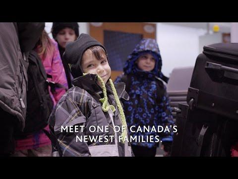 Air Canada Reunites Families : Meet one of Canada's newest families