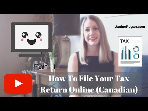 Filing Your Tax Return Online (Canada) Using Simple Tax (Part 1)