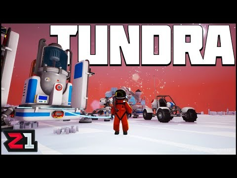Building the TUNDRA BASE! Astroneer Update 10 Gameplay | Z1 Gaming