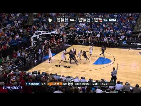 Derrick Williams 17pts vs. Texas Longhorns (03.20.2011)- Clutch 3-Point Play