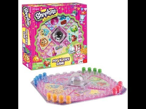 pressman-toy-shopkins-pop-'n'-race-game-|-game-for-learning-to-count-|-family-game-|-game-for-kids