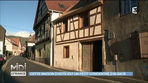 Maisons D Hotes Une Decoration Typiquement Alsacienne Youtube