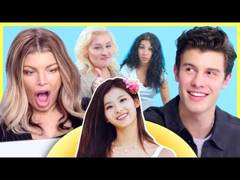 Shawn Mendes, Fergie And Christina Aguilera React To K-Pop!