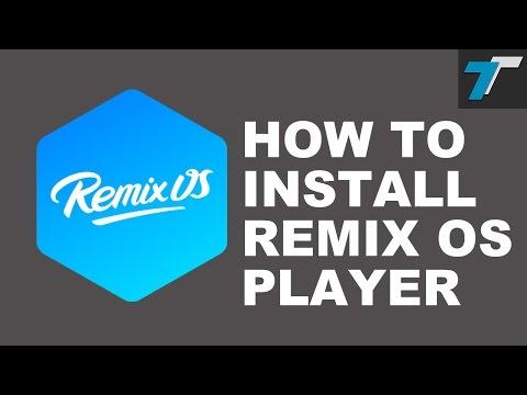 Remix Os Player Standalone Installer