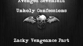 Avenged Sevenfold - Unholy Confessions Backing Track With Zacky Veneance Guitar Part - With Vocals