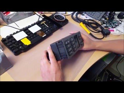SAAB 93 9.3 ACC LCD Pixel Repair Part 1