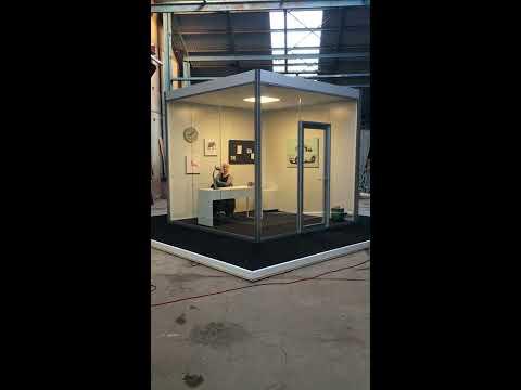 Vi tester lyden - Office Pod Copenhagen!