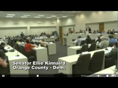 Senate Appropriations Commitee debates Senate Budget