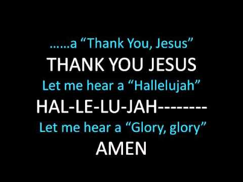 Thank You, Jesus-Demo