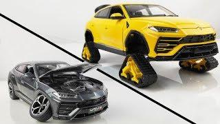 Restoration/Customization Lamborghini Urus Into a Tracked Sport Car - Model Car Customization