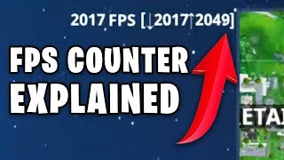 What do these numbers mean? - Fortnite FPS Counter Explained - 2000 FPS NASA SUPERCOMPUTER PC