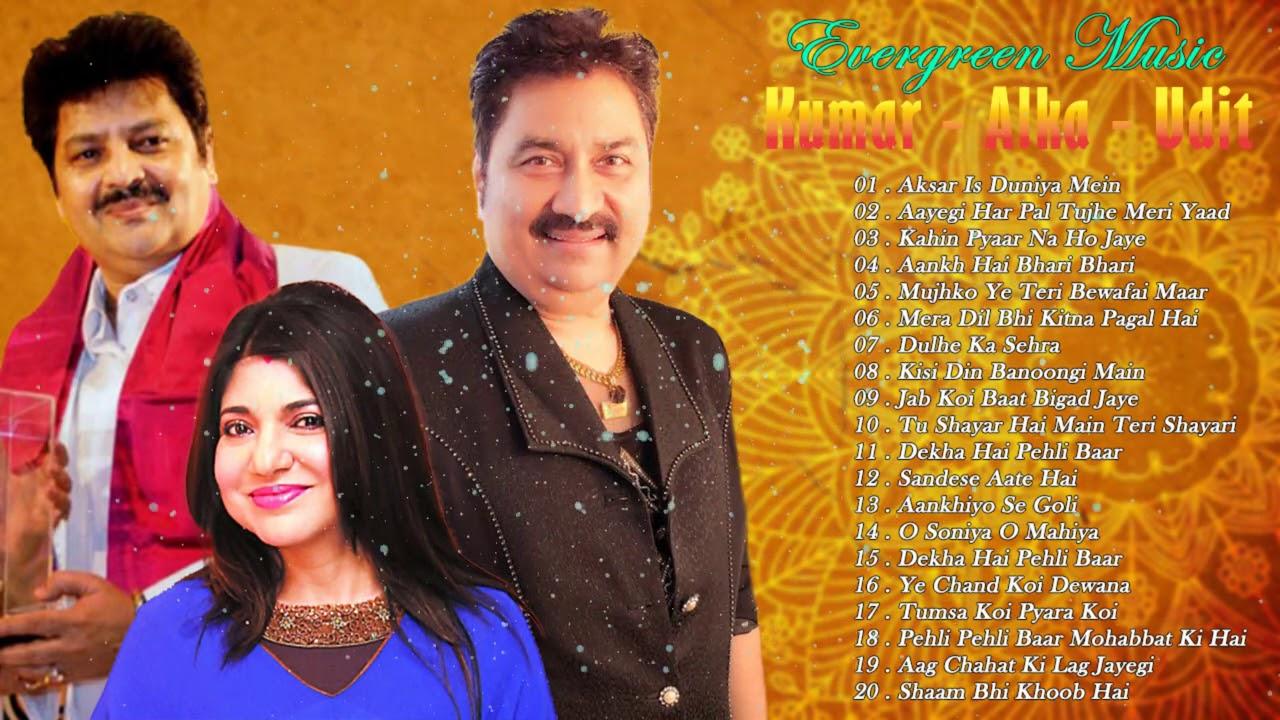 Alka Kumar Udit - Golden Hits Romantic Hindi Songs - EVERGREEN MELODY