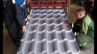 Оборудование для производства металлочерепицы типа «Adamante»  ООО Шаталов